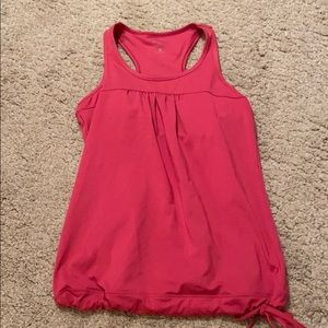Athleta size small tank built in bra removable cup